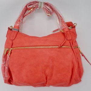 CO-LAB Bags - CO-LAB by Christopher Kon Tote Coral Tote Leather